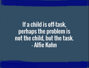Alfie Kohn quote